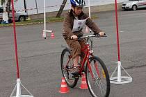 Mladí cyklisté soutěžili