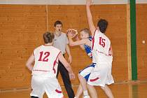 Basketbalisté TJ Klatovy porazili v nedělním zápase USK Praha 66:51.