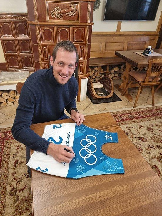 Olympionici, kteří věnovali své věci do šumavské dražby.