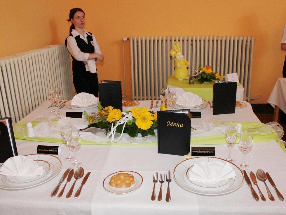 Výstava dortů na Střední škole zemědělské a potravinářské v Klatovech