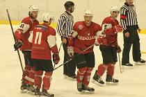 Klatovy zvládly přestřelku na ledě Sokolova.