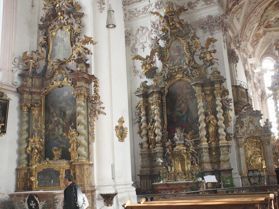 V Aldersbachu s Deníkem
