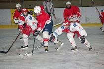 Hokejistky HC Slavie Praha přijely do Klatov ve středu prověřit síly klatovského mladšího dorostu v přátelském utkání.