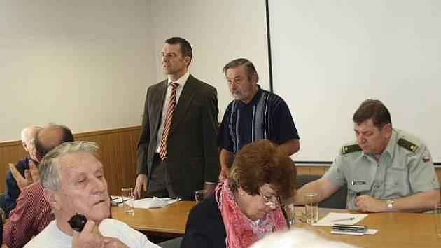 Setkání  klatovského Klubu vojenských důchodců