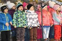 Vánoční zpívání v Klatovech.