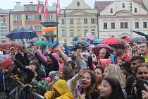 Pouť v Klatovech s koncertem Marka Ztraceného.