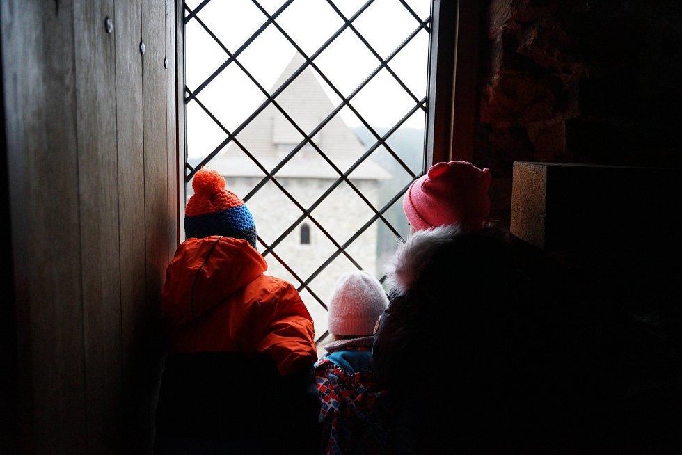 Zimní prohlídky Kašperku.