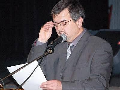 Nový starosta Horažďovic Karel Zrůbek