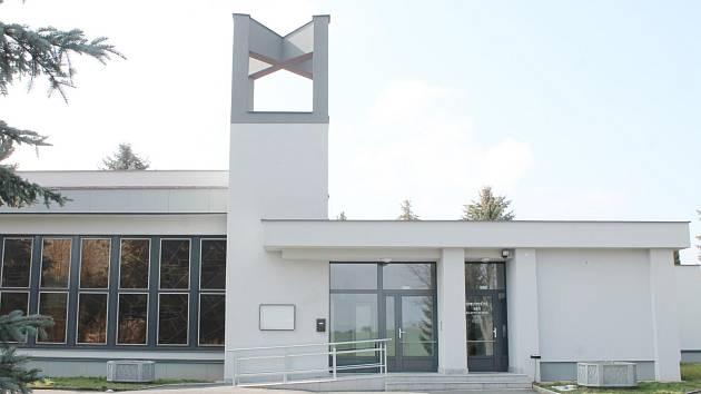 Pohřební síň v Horažďovicích.