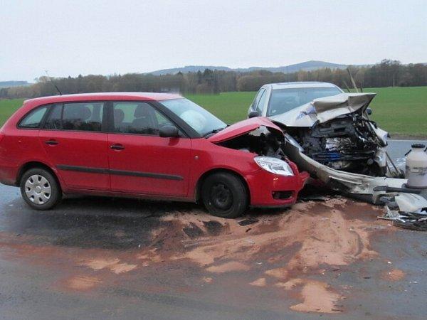 Dopravní nehoda uJanovic nad Úhlavou