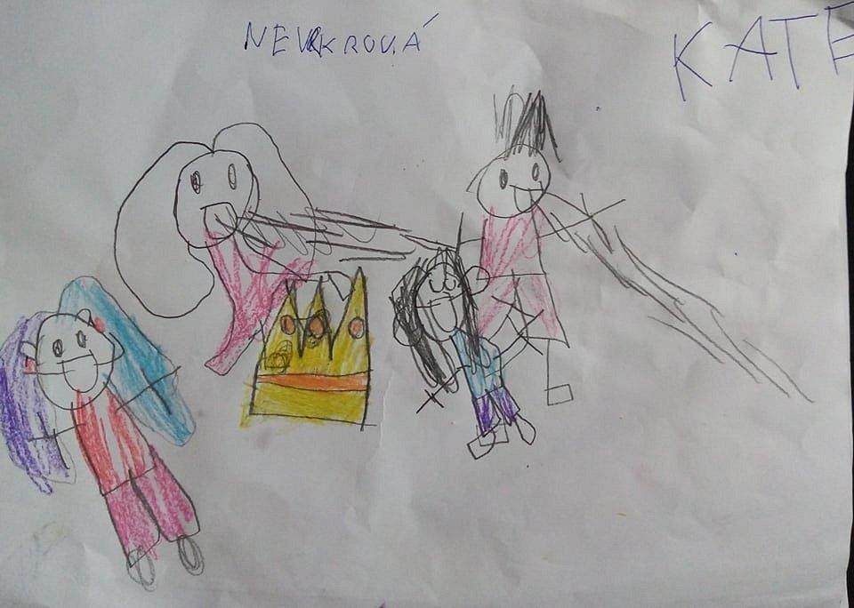 Kate Nevrklová, 6 let, Klatovy.