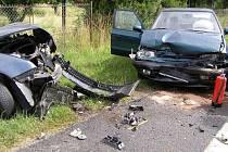 Dopravní nehoda u Lužan