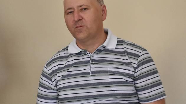 Martin Hladík u klatovského soudu.