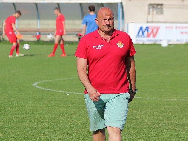 Milan Dejmek skončil u klatovských fotbalistů
