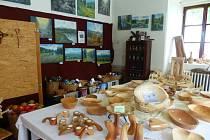 Výstava v Srní.