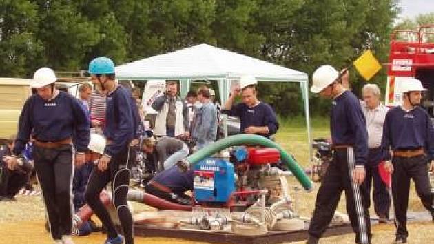 Tradiční hasičská soutěž se konala v Malinci u Měčína. Zvítězil domácí tým.