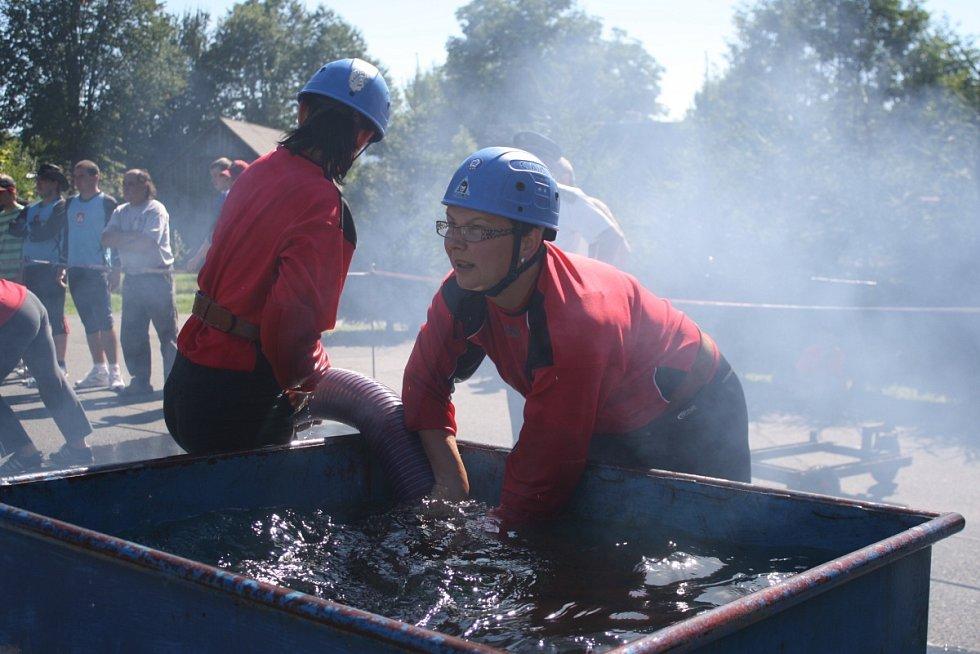 Pošumavská hasičská liga pokračovala ve Strážově 7. 9. 2013