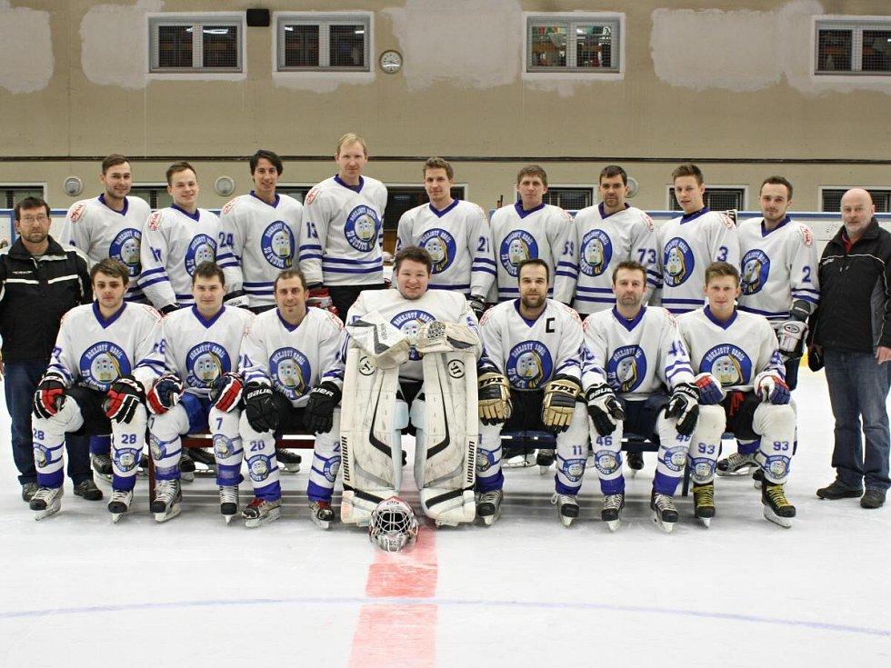Hokejový tým TJ Sušice skončil v okresním přeboru Strakonicka v sezoně 2015 - 2016 na druhém místě