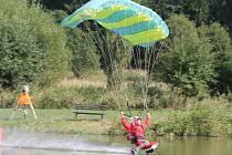 Tréninky v canopy pilotingu v Klatovech