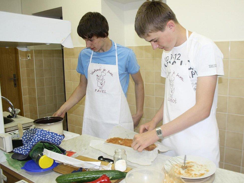 ZŠ Klatovy, Plánická ulice pořádala soutěž ve vaření