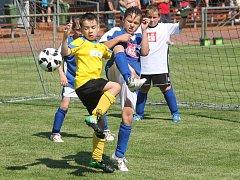 Okresní finálový turnaj mladších přípravek v Janovicích.