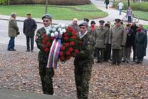 Den veteránů v Klatovech Pod valy