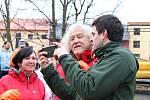 Desátý ročník Vánočního splouvání Otavy s Lubomírem Brabcem.