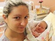 Julie Mrázová zKlatov (3420 g) uviděla světlo světa vklatovské porodnici 25. října ve 3.13 hodin. Pohlaví miminka si nechala maminka Simona a tatínek Miroslav jako překvapení na porodní sál.