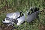 Nehoda u Železné Rudy.