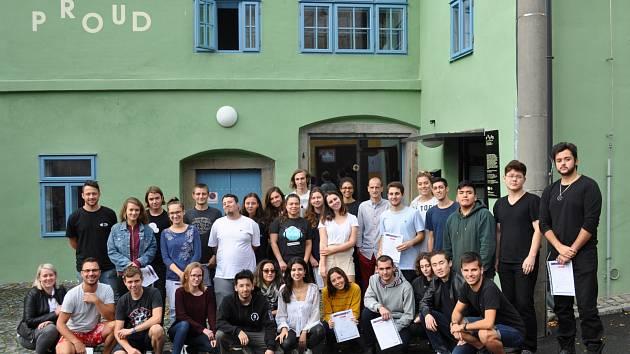 Výměnný program pro mládež v Horažďovicích.