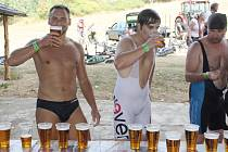 Chlatovský pivní triatlon 2015.