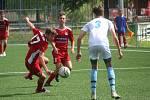 FC Rokycany U17 vs. SK Klatovy 1898 U17 (červení).