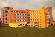 Studie nového monobloku klatovské nemocnice