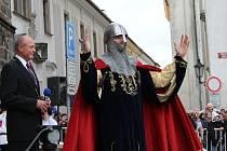 Oslavy sv. Václava v Klatovech.