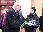 Prezidentský kandidát Jiří Drahoš v Sušici a v Klatovech.