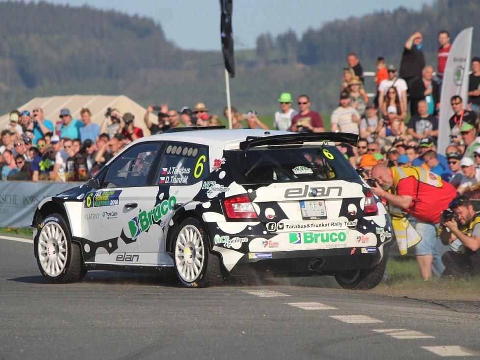 Rallye Šumava Klatovy 2018: RZ 1 - Klatovský okruh