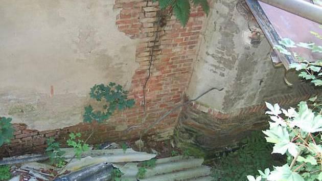 Bývalá papírna v Hamrech