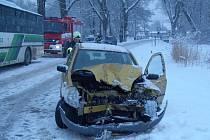 Dopravní nehoda u Hrádku u Sušice