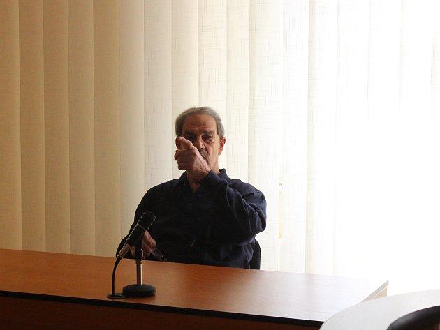Robert Franz Eckl u klatovského soudu