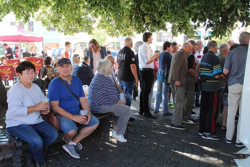 Oslavy TJ Sokol Sušice, pivní slavnosti a farmářské trhy.