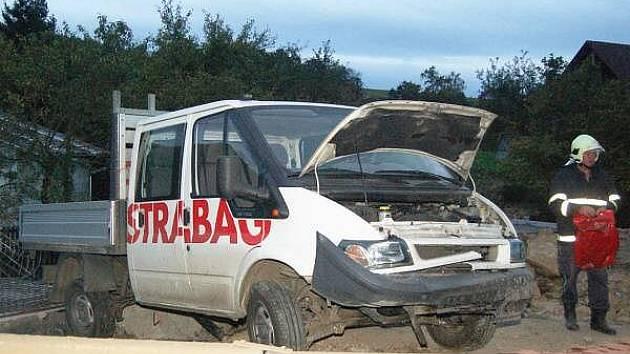 Dopravní nehoda v Kocourově