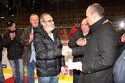 Fotky z oslav 90 let klatovského hokeje.