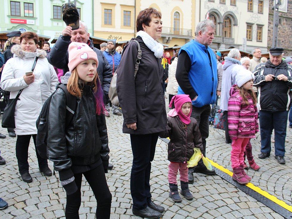 Velikonoční trhy v Klatovech.