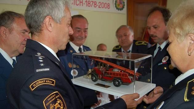 Oslavy 130. výročí založení hasičského sboru v Horažďovicích.