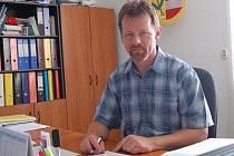Starosta Vřeskovic Václav Matoušek