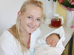 Josef Hanzlík ze Železné Rudy (3400 g, 51 cm) se narodil 27. června v 15.56 hodin. Rodiče Zuzana a Josef měli z prvorozeného syna radost.