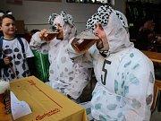 Pivní běh v Hojsově Stráži.