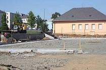 Výstavba nového hřiště ZŠ Čapkova v Klatovech