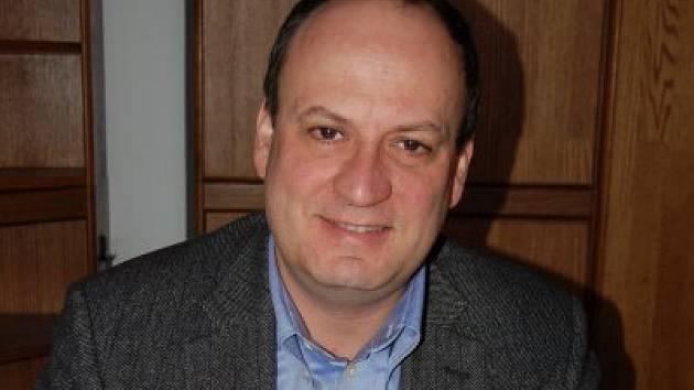 Václav Chroust, člen občanského sdružení Klatovské katakomby.
