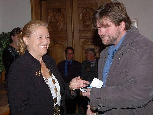 Ocenění dárců krve v Klatovech